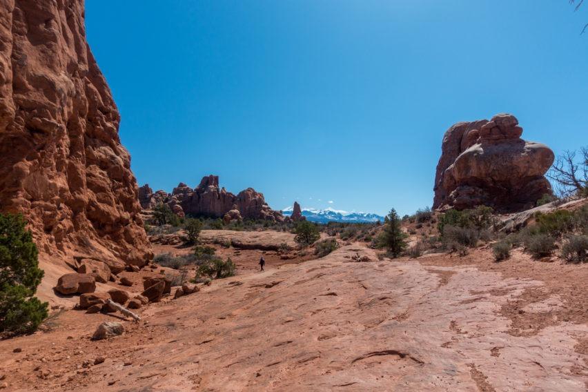 Arches: Start of Primitive Trail