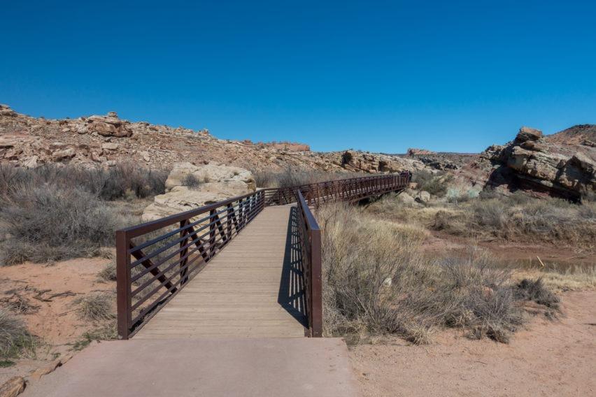 Arches: Bridge Across Salt Wash