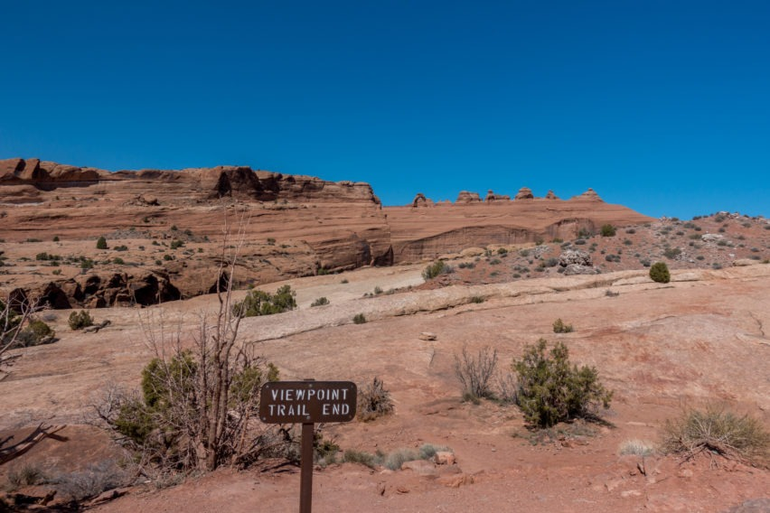 Arches: Upper Delicate Arch Viewpoint
