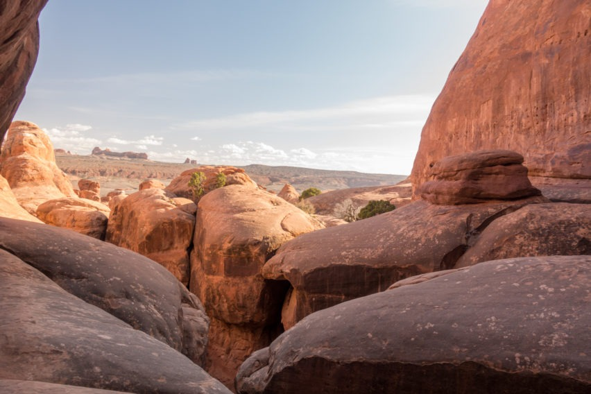 Arches: View in Fiery Furnace