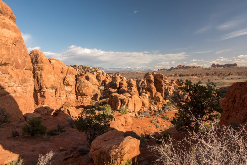 Arches: Fiery Furnace View