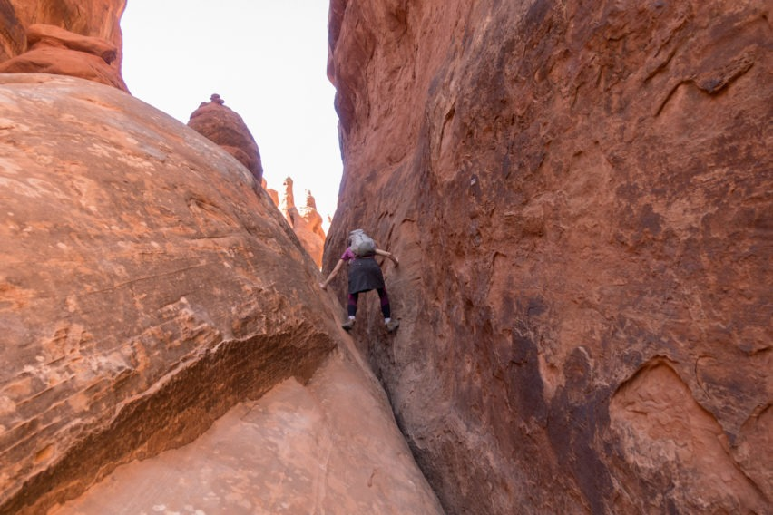Arches: Narrow Area in Fiery Furnace