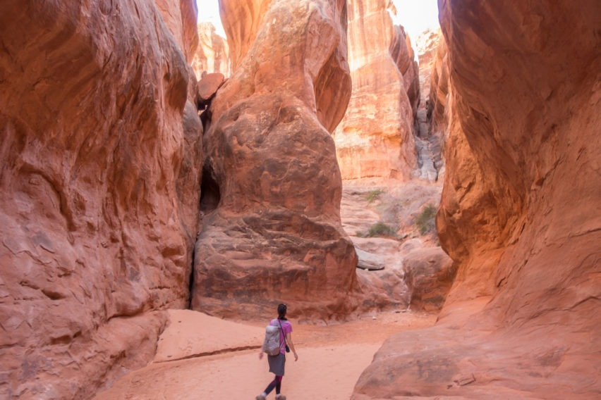 Arches: Exploring Another Dead End in Fiery Furnace